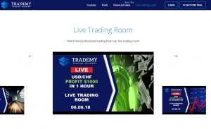 Trademy Live Trading Room