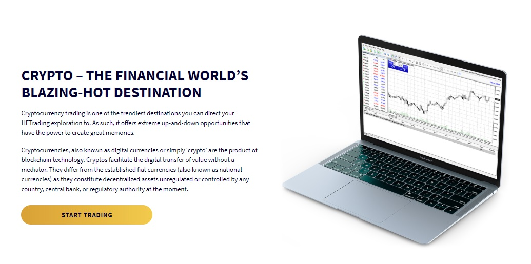 HFTrading Cryptocurrency CFDs